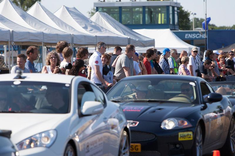 Good Cause Rally 2013 op vliegveld Twente.